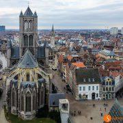 Vista-del-Belfort-Gante-Belgica