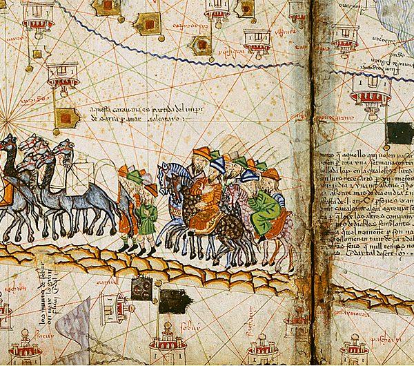 Catalan Desert travelers