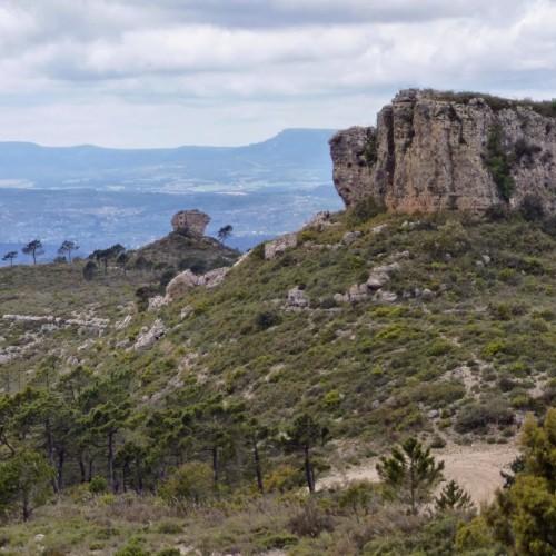 Pico Caroig - Ayora al fondo